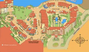 The Village at Lake Las Vegas Map